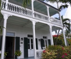 Plantation House in the lower Florida Keys